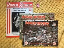 More details for roker review – 3 vintage sunderland football programmes
