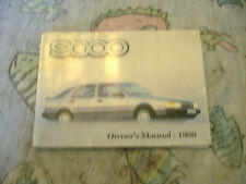 Saab 9000  owner's manual 1988 service booklet audio manual