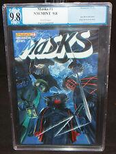 Masks #1 - Alex Ross Shadow, Green Hornet, & Kato - PGX Grade 9.8 - 2012