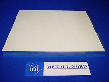 Aluminium Zuschnitt 320x220x6mm für 3D Drucker Grundplatte AlMg4,5Mn plangefräst