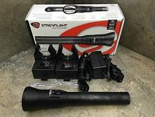 Streamlight Stinger DS HPL LED Police Flashlight 75863 w/ AC/DC Charger 2 Holder