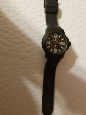 Smith & Wesson Men's Commando Watch w/ rubber wrist band, water resistant, new