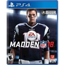 Madden NFL 18 PS4 New Sealed (Sony PlayStation 4, 2017) + free fast shipping