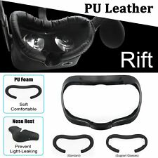 PU Leather Facial Interface Foam Basic Set Replace For Oculus Rift VR Headset