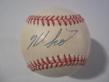 Herb Score Cleveland Indians Signed Autographed Official ROMLB Jsa Coa