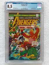 """Avengers #134 (Marvel, 4/75) CGC 8.5 VF+ (Origin of Vision revealed) """"KEY"""""""