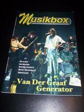 Rivista - Musikbox n°15 (71/72) 2004 - 100pg. - Van der graaf - Hendrix