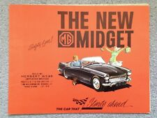 MG Midget 1962 Dealer Sales Brochure - Original - Near Mint Condition