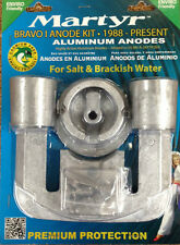 1988-up MerCruiser BRAVO 1 Aluminum Anode zinc Salt Brackish KIT CMBRAVO1KITA