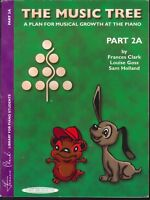 Music Tree Part 2A Piano Lesson Book 2000 Frances Clark Damper Pedal Transposing