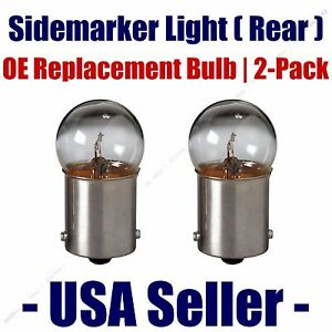Sidemarker (Rear) Light Bulb 2pk - Fits Listed Merkur Vehicles - 89