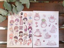 My Neighbor Totoro Spirited Away Kiki's Delivery Service Ghibli 40 stickers