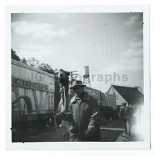 Clyde Beatty Circus - Camel - Original Vintage Snap Shot Glossy Photograph