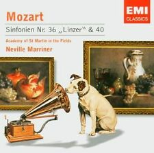 Mozart Symphonies 36 'Linzer' & 40 Marriner AOSMITF Emi Classics CD.New & Sealed