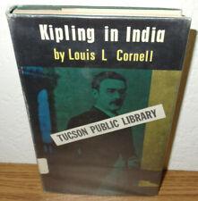 Kipling in India book by Louis Cornell *Rudyard Kipling Literary Development