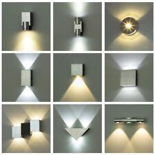 Aluminium LED MINI Deko Wandleuchte LEDia 1W 2W Flurlampe Flurleuchte - KWAZAR!