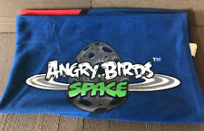 Angry Birds Lot Of 2 - Backpack and 4x5 Angry Bird Space blanket