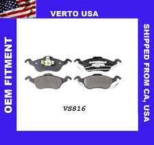 Disc Brake Pad-Verto USA  Metallic with Shims  Front fits 00-04 Focus VS816
