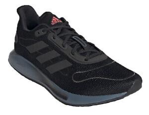 Adidas Mens Galaxar Trainers Running Shoes Comfort Mesh Lightweight Black UK6-12