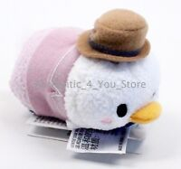 "NEW Authentic US Disney Parks DONALD DUCK Retro Chic Tsum Tsum Mini 3.5"" Plush"