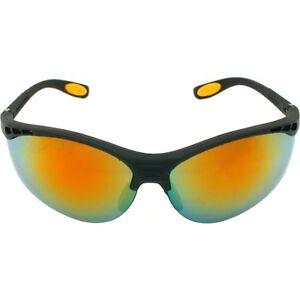 DeWALT Reinforcer Safety Glasses Fire Mirror Lens