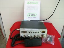 CB  Président SUPERSTAR - 3000  *Façade Chromée*  avec micro amplifié ECHO -