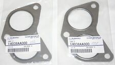 Subaru Impreza 2 Genuine Exhaust Manifold unequal length Gaskets 1992-2015