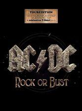 AC/DC - ROCK OR BUST  CD + T-SHIRT  (SIZE L) NEU