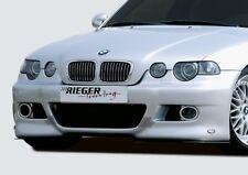 Rieger Spoilerstoßstange  BMW 3er E46 Compact 02.02- (ab Facelift)