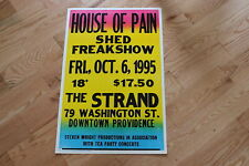 1995 (Oct. 6) House of Pain, etc Original concert poster (Strand, Providence, Ri