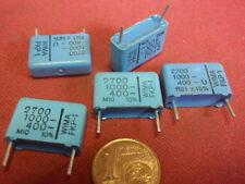 NOSTALGIE KONDENSATOR 2,7nF 1000V= WIMA FKP1 17x12x5mm RM=15mm   5x   25628