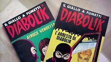 DIABOLIK - fumetti anni '70 - ristampe # 3 e # 4