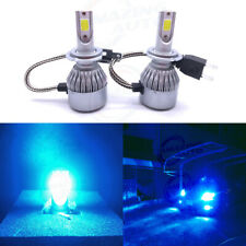 New 2x H7 8000K Ice Blue 8000Lm Cree Led Headlight Bulbs Kit High Low Beam Light