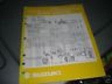 1990 Suzuki Atv Motorcycle Wiring Diagrams Manual