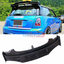 Carbon Fiber AG Roof Wing Spoiler For BMW Mini Cooper S R56 R57 06-13 B495