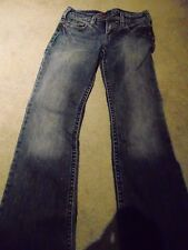 """Silver Jeans """"tina"""" Distressed Vintage Women's Jeans size27"""