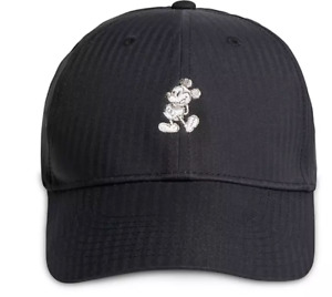 Disney Parks Nike Classic Mickey Dri-Fit Baseball Hat Black Exclusive - NEW