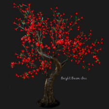 LED Tree Cherry 384LED 4.8-Feet Red Christmas Outdoor Landscape Wedding Event