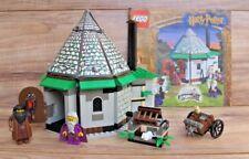 HARRY POTTER LEGO 4707 Hagrid's Hut - 100% Complete + Manual - EUC