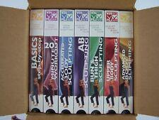Winsor Pilates Body Sculpting VHS Fitness 7 Tape Box Set New Sealed