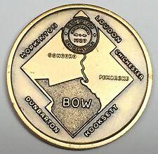 C2830   BOW,  N.H.  BRONZE  TOWN  MEDAL,  U.S. BICENTENNIAL   1976