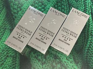 LANCOME Teint Idole Ultra Wear Foundation 5ml x3 Bundle *Please Choose* NEW