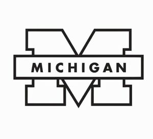 Michigan Wolverines Vinyl Die Cut Car Decal Sticker - FREE SHIPPING