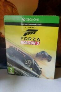 Forza Horizon 3 Ultimate Edition [ STEELBOOK Package ] (XBOX ONE) NEW SEALED