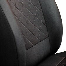 CAR SEAT COVERS FOR DACIA DUSTER FULL SET DEEP BLACK