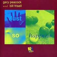 Gary Peacock - Just So Happens [New CD] Duplicated CD