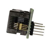 MagiDeal Programmer Adapter Socket Converter SOIC8 SOP8 To DIP8 - 150mil