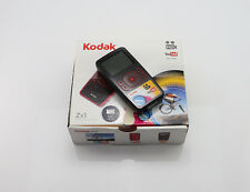 KODAK ZX1 CAMCORDER BOXED HIGH DEFINITION SDHC CARD WEATHERPROOF HD VIDEO CAMERA