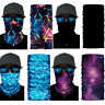3D Seamless Galaxy Balaclava Face Mask Warmer Motorcycle Colorful Bandana Scarfs