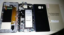 Samsung Galaxy note 5 parts chassis, frame, battery, charging port etc